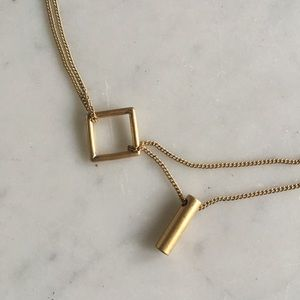 Madewell Trapeze Necklace